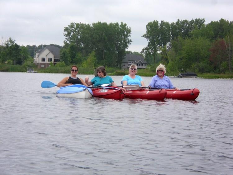 Kayak four